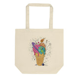 Space Cone Organic Cotton Tote Bag - Esdee Designs