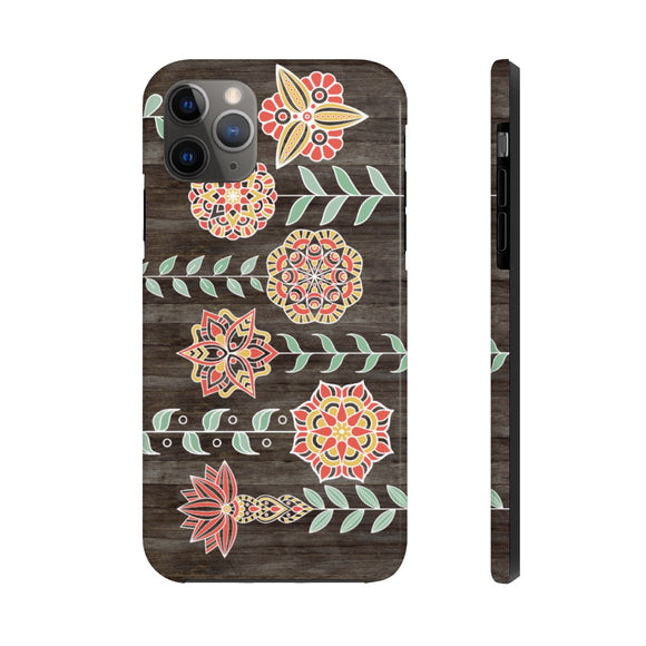 Bohemian Floral Tough Phone Case