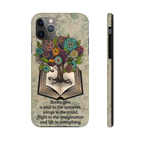 Book Lover Tough Phone Case