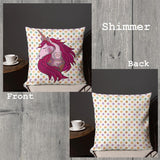 Unicorn Indoor Outdoor Accent Pillow - Esdee Designs