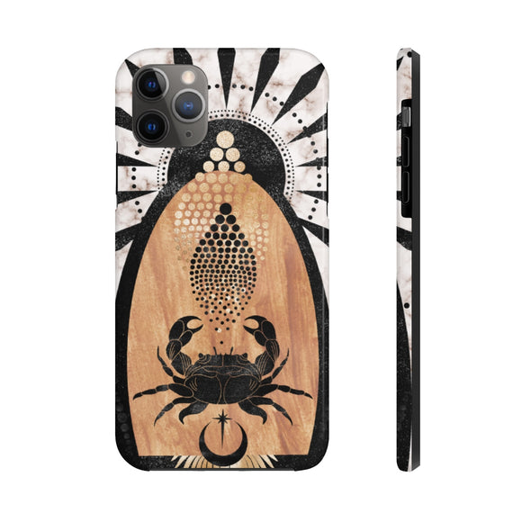 Mystical Crab Tough Phone Case