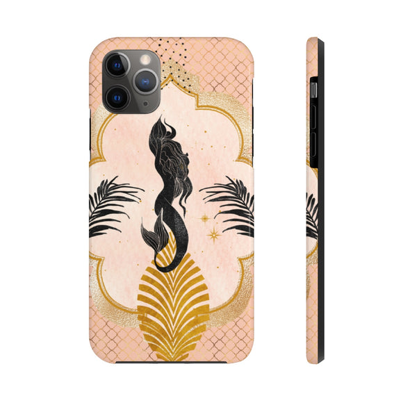 Rose Gold Mermaid Tough Phone Case