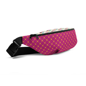 Bright Pink Hip Bag