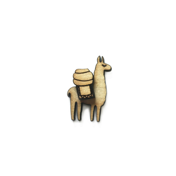 Llama Pin/Magnet Version 1 - Esdee Designs