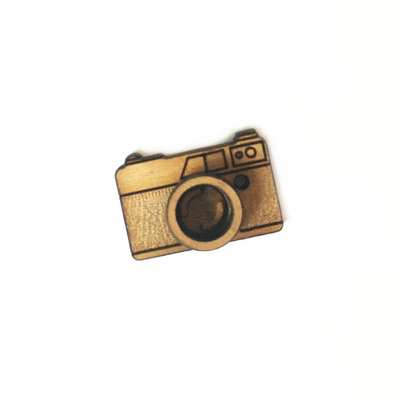 Camera Lapel Pin/Magnet - Esdee Designs
