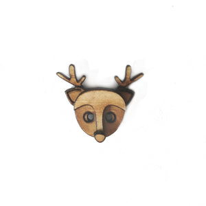 Deer Lapel Pin/Magnet - Esdee Designs