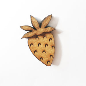 Strawberry Lapel Pin/Magnet - Esdee Designs