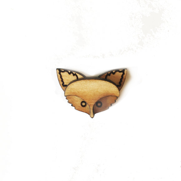 Fox Lapel Pin/Magnet - Esdee Designs