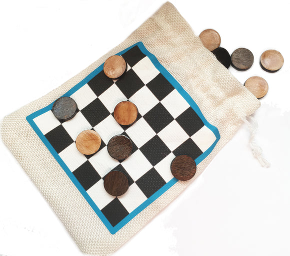 Travel Checkers Set - Esdee Designs