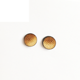 Gradient Pattern Stud Earrings - Esdee Designs