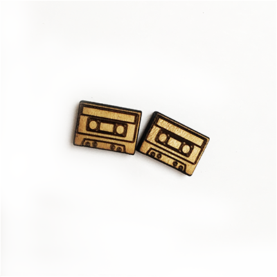 Cassette Stud Earrings - Esdee Designs