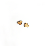 Heart Stud Earrings - Esdee Designs