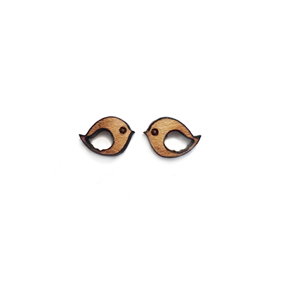 Birdy Stud Earrings - Esdee Designs