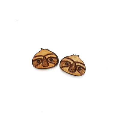 Sloth Stud Earrings - Esdee Designs