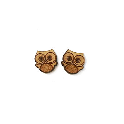 Owl Stud Earrings - Esdee Designs