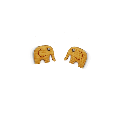 Elephant Stud Earrings - Esdee Designs