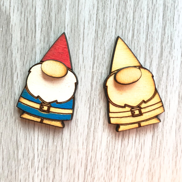 Gnome Lapel Pin/Magnet - Esdee Designs