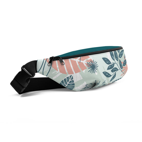 Tropical Floral Hip Bag