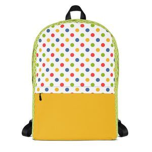 Bright Dots Backpack Laptop Bag