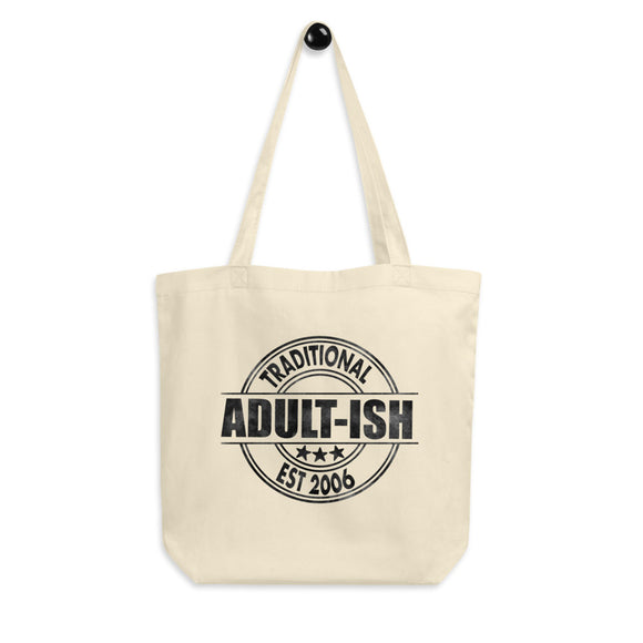 Adultish Organic Cotton Tote Bag - Esdee Designs