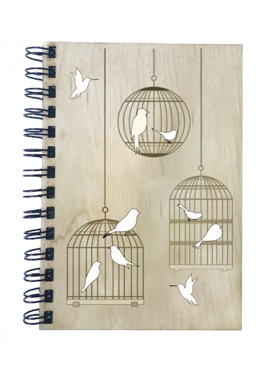 Bird Cage Notebook - Esdee Designs