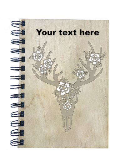 Deer Skull Notebook - Esdee Designs