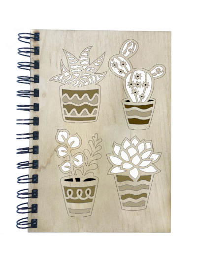 Cacti Notebook - Esdee Designs