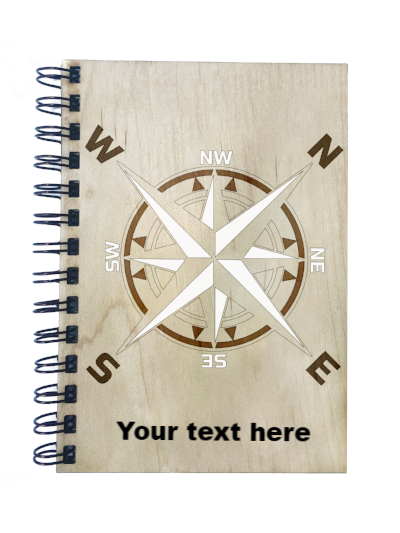 Compass Notebook - Esdee Designs