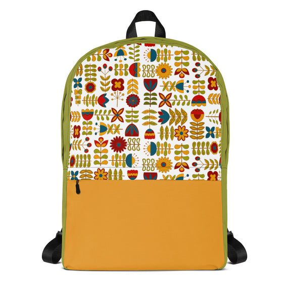 Candy Corn Backpack Laptop Bag