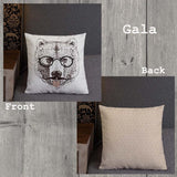 Sassy Bear Indoor Outdoor Accent Pillow - Esdee Designs
