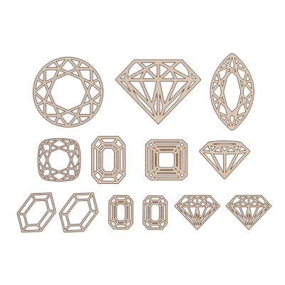 Gems add on kit - Esdee Designs