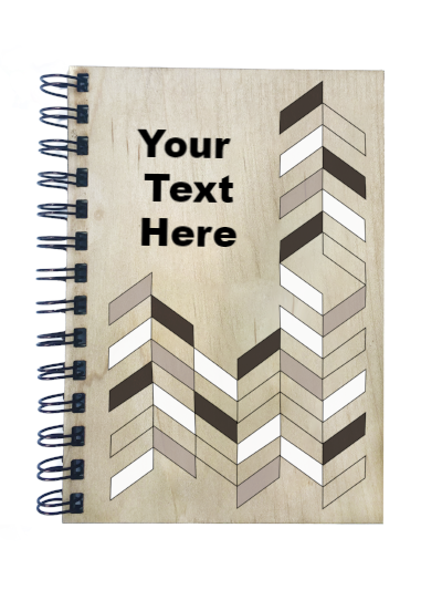 Chevron Notebook - Esdee Designs