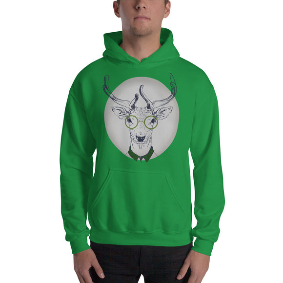 Oh Deer Hooded Sweatshirt
