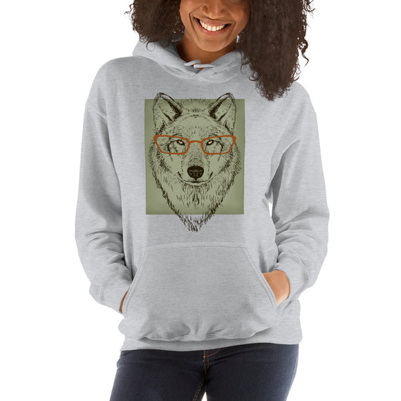 Ruby the Wolf Hooded Sweatshirt