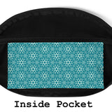 Turquoise Hip Bag - Esdee Designs