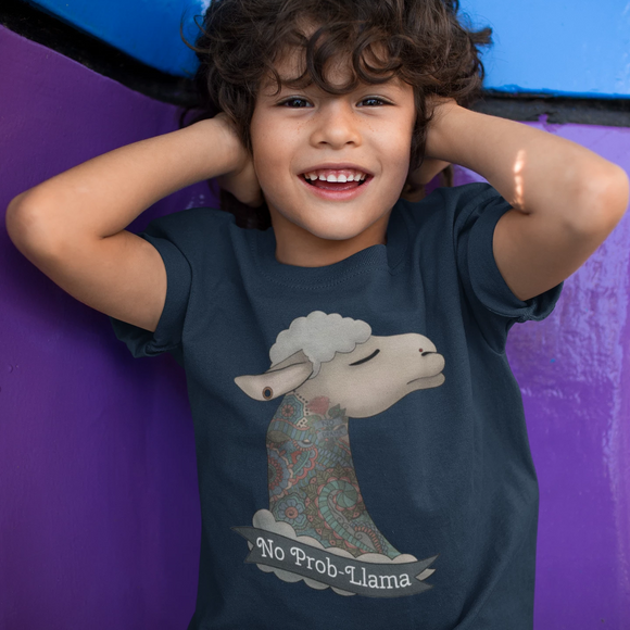 No Prob-Llama Child T-shirt