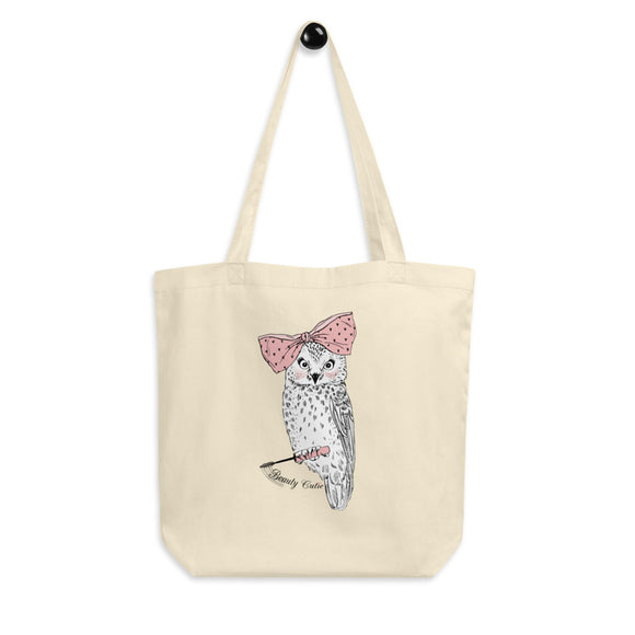 Beauty Cutie Organic Cotton Tote Bag - Esdee Designs