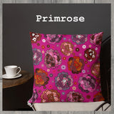 Abstract Floral Pattern Indoor Outdoor Accent Pillow - Esdee Designs