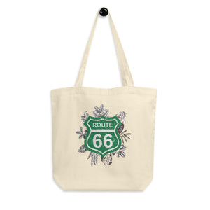 Route 66 Organic Cotton Tote Bag - Esdee Designs