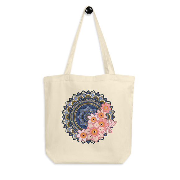 Mandala Organic Cotton Tote Bag - Esdee Designs
