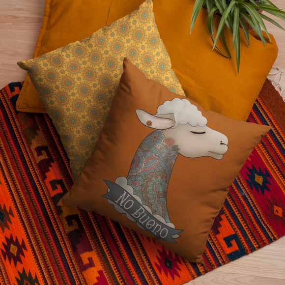 Llama Indoor Outdoor Accent Pillow