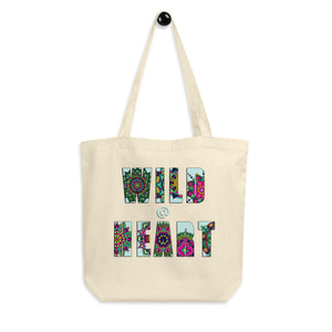 Wild at Heart Organic Cotton Tote Bag - Esdee Designs