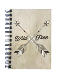 Wild and Free Notebook - Esdee Designs