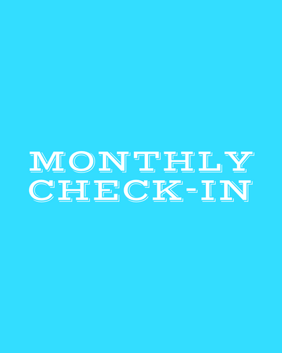1x Monthly Check-In-Coach Holly