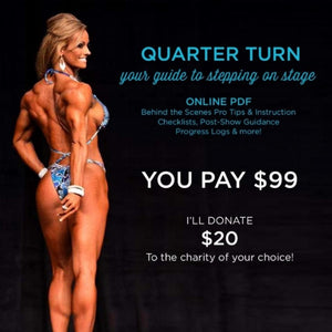 Quarter Turn to the Right, Your Guide to Stepping on Stage-pdf-Coach Holly