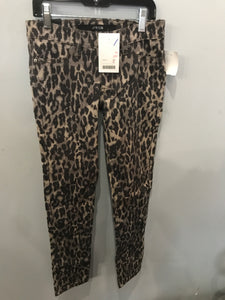 Boutique NEW Joe's Cheetah Size 12 Girls Pants Ultra Slim Fit