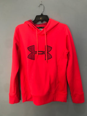 Size Small Under Armour Orange Active Wear Women's Sweatshirt