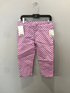 Joe's Purple Size 12 NEW Boutique Girls Capri Pants