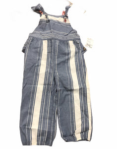 Matilda Jane Blue Striped Size 18-24 Months Boutique Infant Girl Overalls