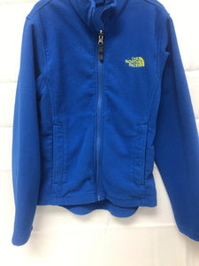 North Face Blue Shirt Jacket